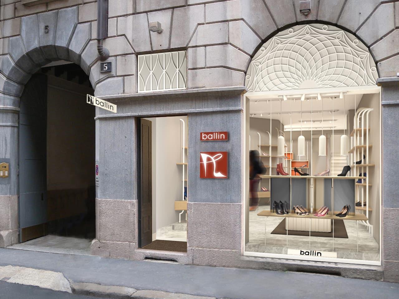 frattinifrilli BALLIN Milano shop