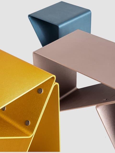 frattinifrilli TRIDO stool/side table/magazine rack